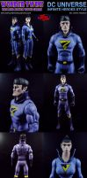 Custom Wonder Twins w/ Gleek Action Figures by MintConditionStudios
