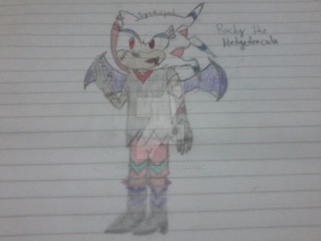 Rochy the Hedgedracula by AisyahShiepumpers28