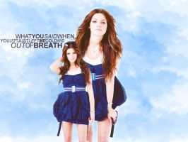 Ashley Greene Blue by paucie