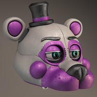 Funtime Freddy Materials Test by Qutiix