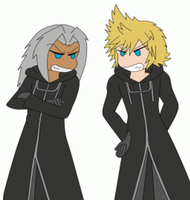 Light and Roxas by ParitSentiment