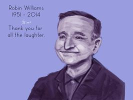Robin Williams by SteveMillersArt
