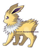 Jolteon by iceicet