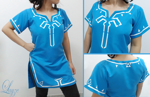 PROGRESS: Link's Champion's Tunic by LayzeMichelle