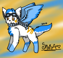 Dawnfire My Official Fursona by ShayminLover101