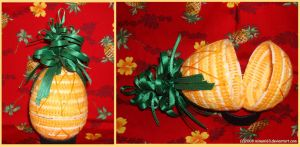 Pineapple 1: Needlepoint by minami63
