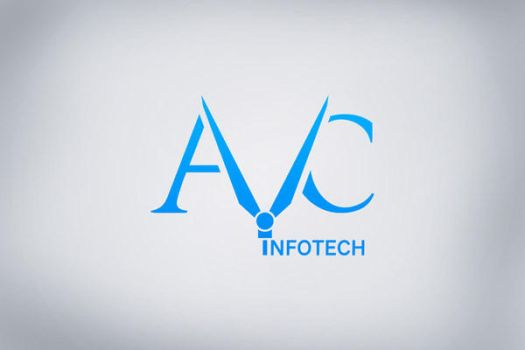 Logo Design for AVC Infotech by freeguy