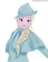 Elsa in Beauxbatons Academy of Magic by DianAxColibrY