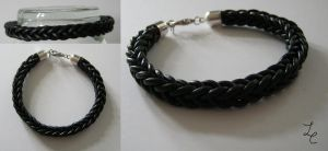 leather bracelet 2 by LovelessCrosseria