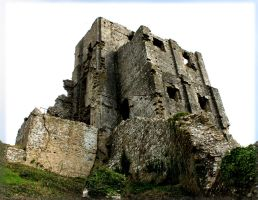 Knackered Old Castle by Xs9nake