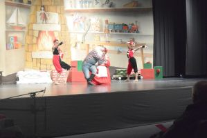 Dance Company Christmas Show,Santa's First Act End by Miss-Tbones