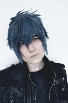 [FFXV COSPLAY] Noctis Closeup by Luxris