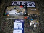 Console Nintendo 64 Gold by ninjamaster76