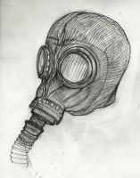 Gas Mask by UniversalEverything