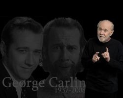 George Carlin Memorial by nascarstones