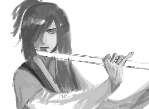 Flute Assassin process (step by step) by HammySan