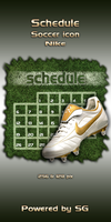 Schedule soccer icon - NIKE by SG3000