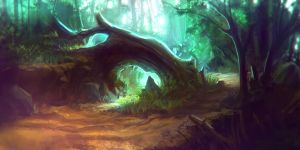 Forest 1color by stutte