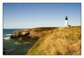 Yaquina Head Lighthouse II by futureplug