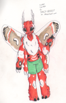 Cecropia Moth for SPAC3-NUGG3T by OverLord-Adopts