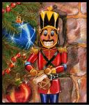 Nutcracker and Drum by JoannaBromley
