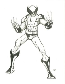 Wolvie sketch by tryin2get-there