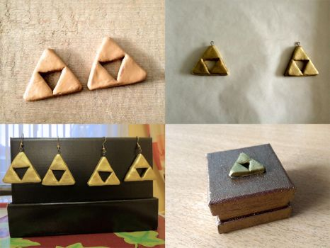 Triforce - Work in Progress by Quilate