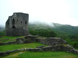 Dolbadarn Castle by wolfilain