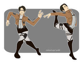 Levi by StarbuckViper