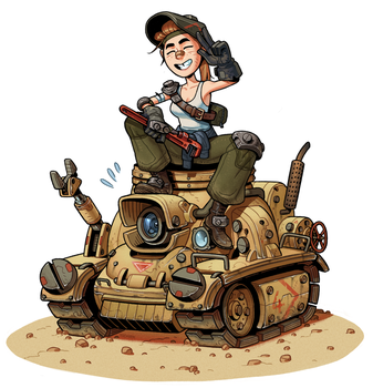 Tank Mechanic by thdark