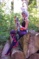 Battle Bunny Riven from League of Legends by  Kema by IsabellaCosplaysky