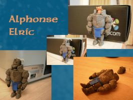 Clay Alphonse Elric by DSenderM