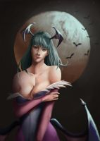 Morrigan by HansSarpe