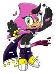 Byte the Hybrid Nicole X Espio Fan Child :Female: by VeggieMadness