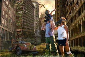 post apocalyptic future by akkigreat