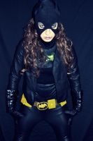 Batgirl Cosplay - ready for Arrow by ozbattlechick