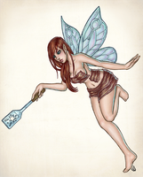 Bacon Fairy by dpdagger