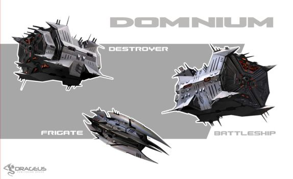 Dominium spaceships by ortheza
