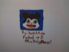 Messed up mickey mouse by JanetAnn