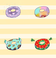 Fairy Doughnuts =OPEN= by Candiry