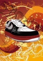 Nikes by hamsher
