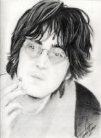 John Lennon by ClAyMoRe--MiRiA