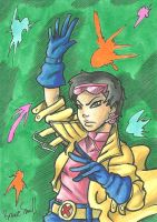 Jubilee Sketch Card by ibroussardart