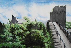 City Wall by Betws-Y-Coed