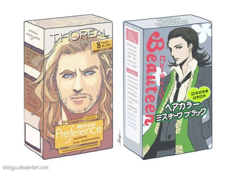 Avengers - thy path to fabulous God Hair by shinjyu