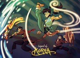The Legend of Korra by splendidriver
