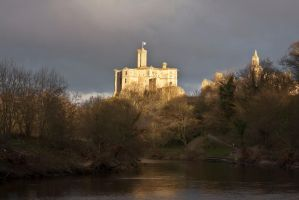 Warkworth Castle 6 by newcastlemale