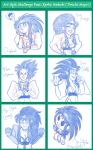 Art Style Challenge Featuring Ryoko (Tenchi Muyo) by Alvah-and-freinds