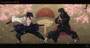 ItaSasu Battle collab by Lee-nus