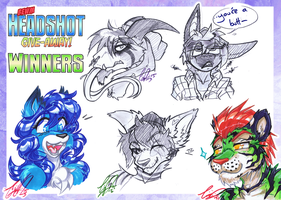 b00m Headshot mini-comp winners! by carnival